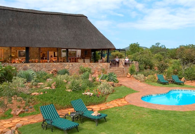 Iketla Lodge - zwembad