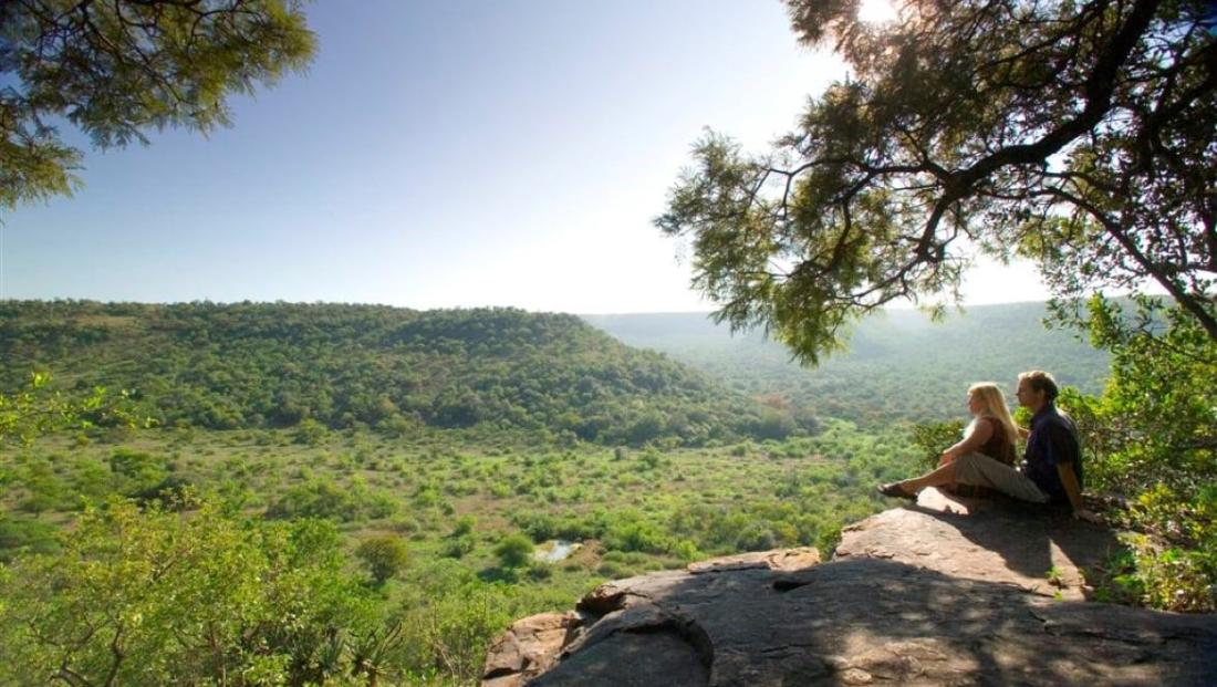 Iketla Lodge - genieten van het uitzicht