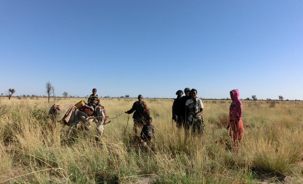 Kalahari - Lokale bevolking
