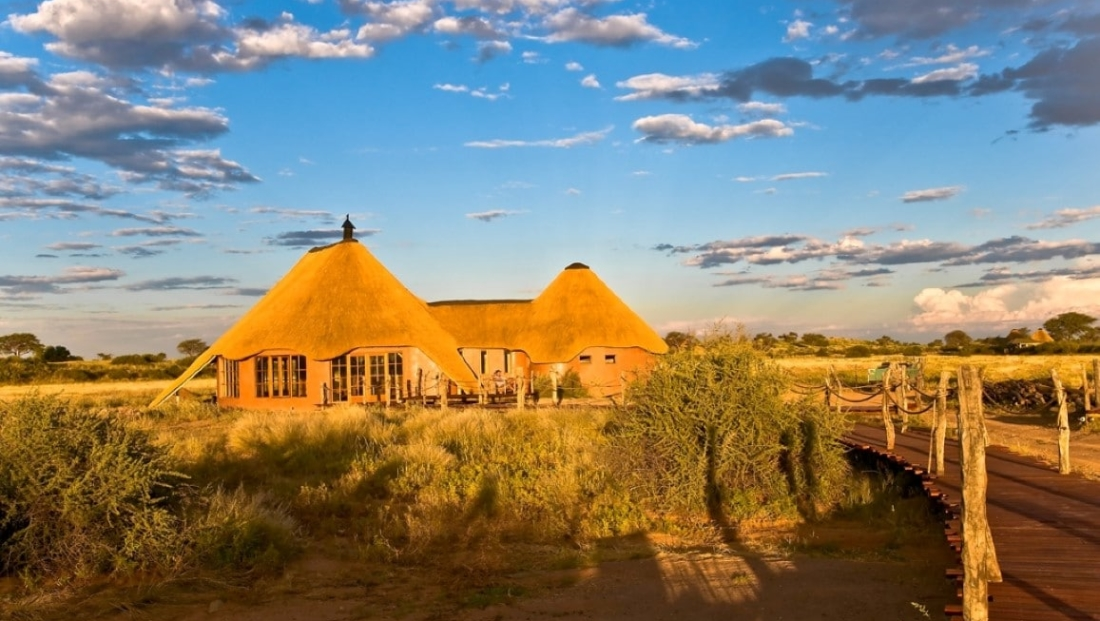 Kalahari Red Dunes Lodge - huis