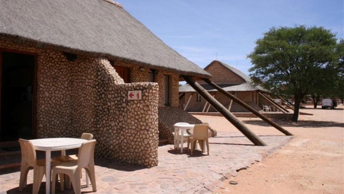 Kgalagadi Transfrontier - huisjes