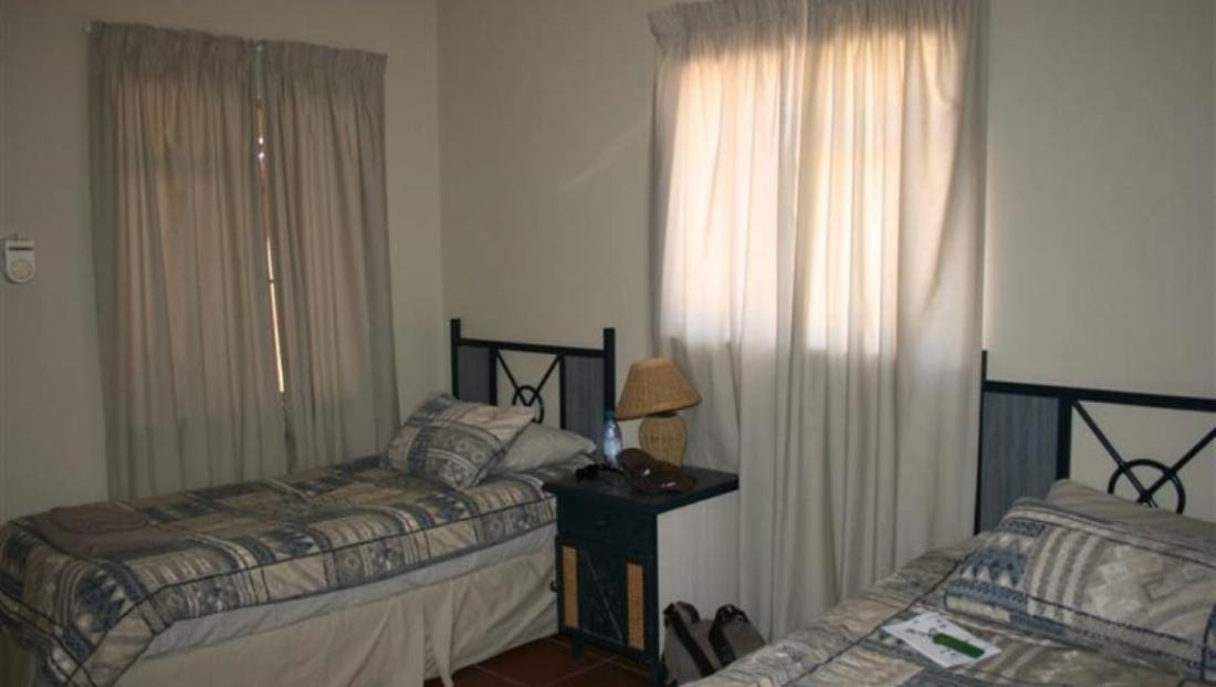 Kgalagadi Transfrontier - slaapkamer