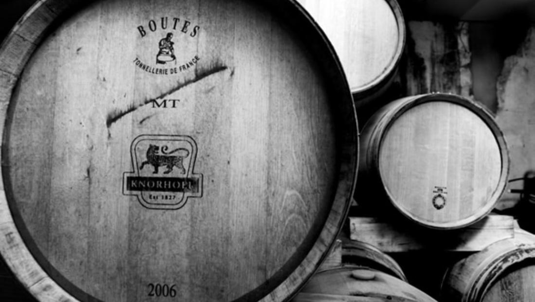 Knorhoek Guesthouse - wijnvat