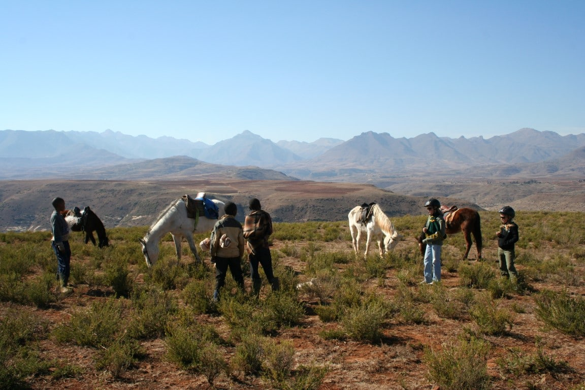 Paarden safari Afrika - Paardrijden in Lesotho