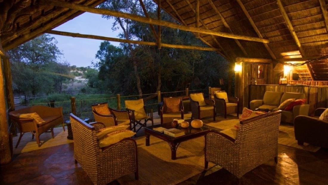 Mashatu Tent Camp - Lounge