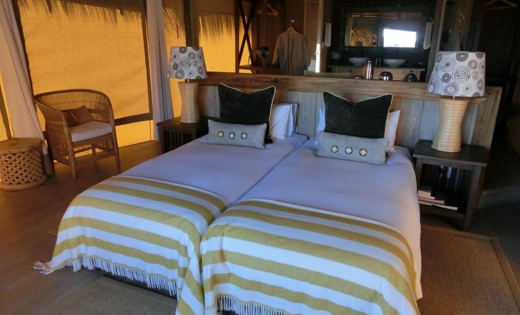 Mowani Mountain Camp - slaapkamer