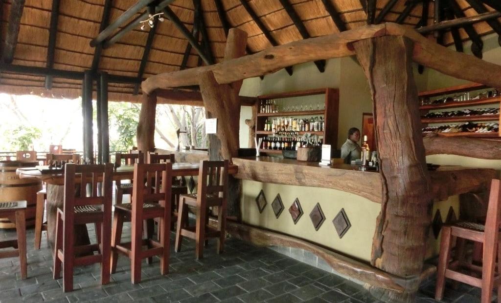 Namushasha Lodge - bar