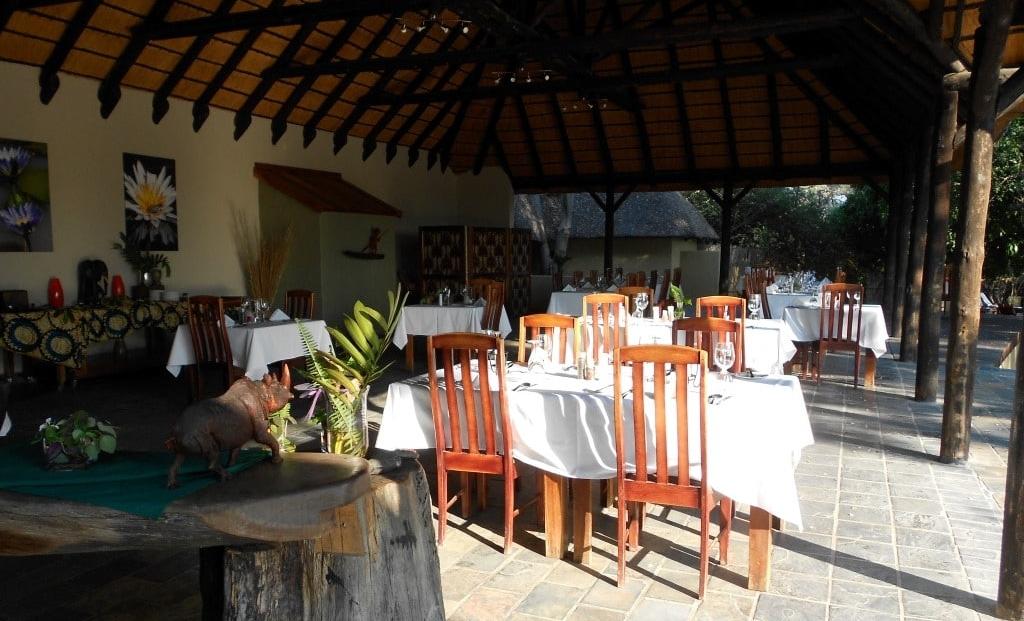 Namushasha Lodge - restaurant