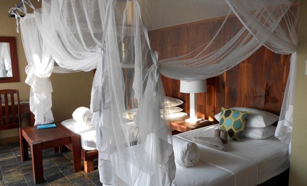 Namushasha Lodge - slaapkamer