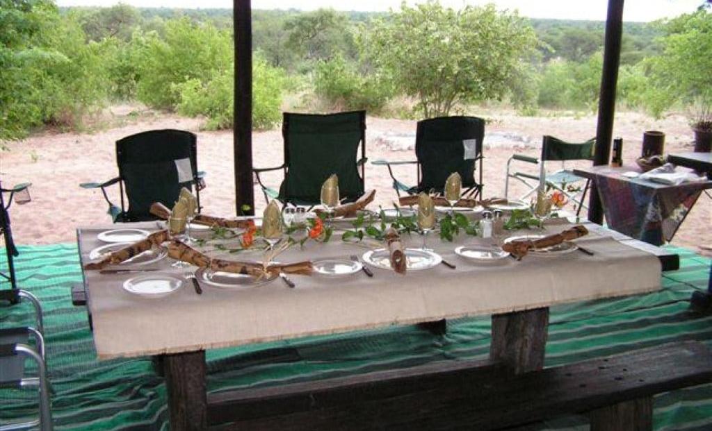 Nhoma Camp - restaurant