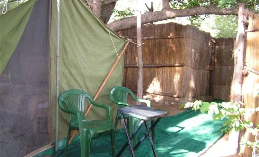 Nhoma Camp - stoeltjes voor tent