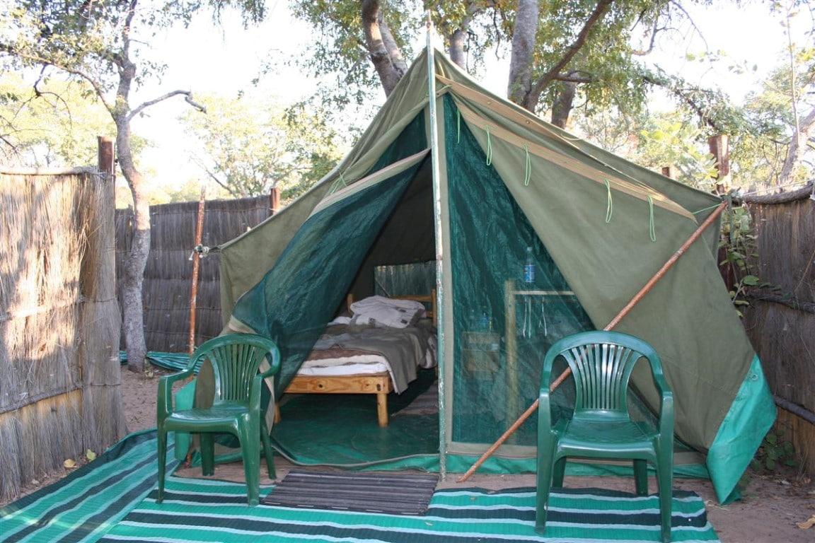 Nhoma Camp - tent