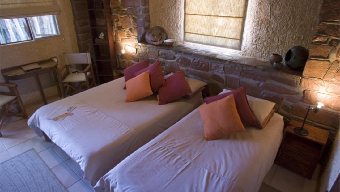 Okonjima Plains Camp - slaapkamer