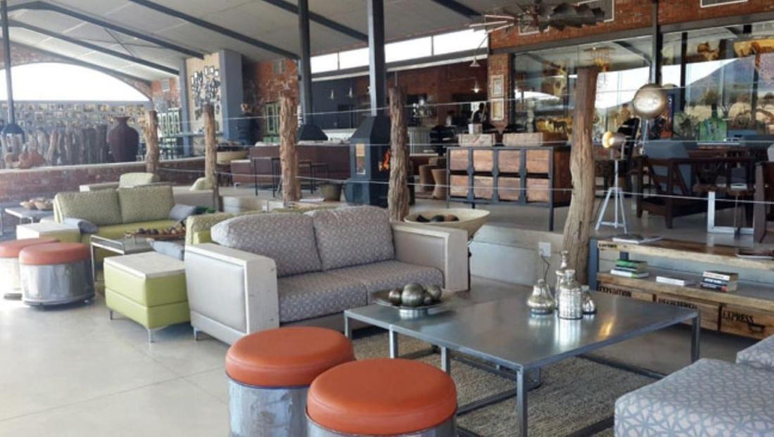 Okonjima Plains Camp - lounge