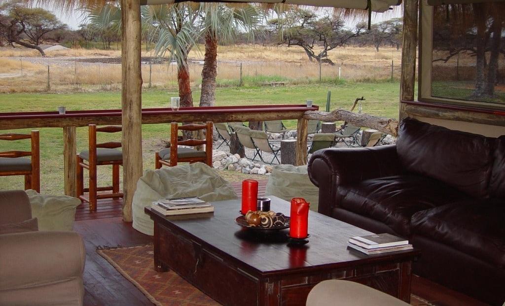 Onguma Bush Camp - lounge