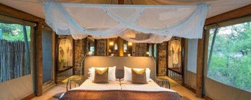 Onguma Tented Camp - slaapkamer