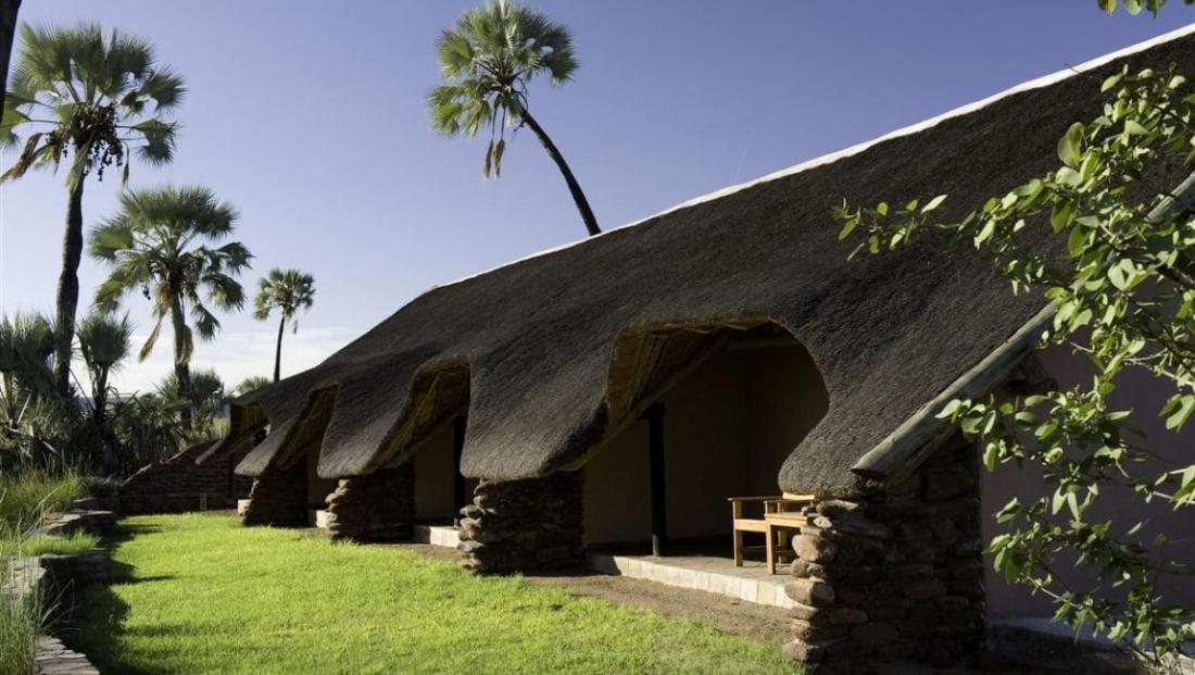 Palmwag Lodge - kamers