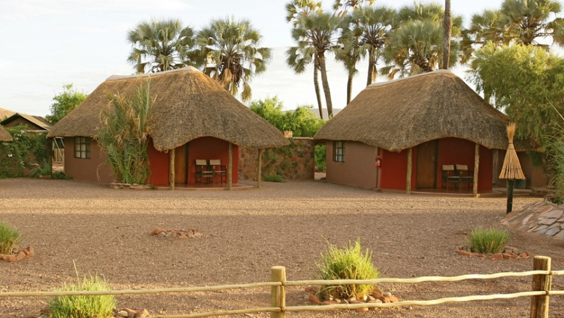 Palmwag Lodge - huisjes