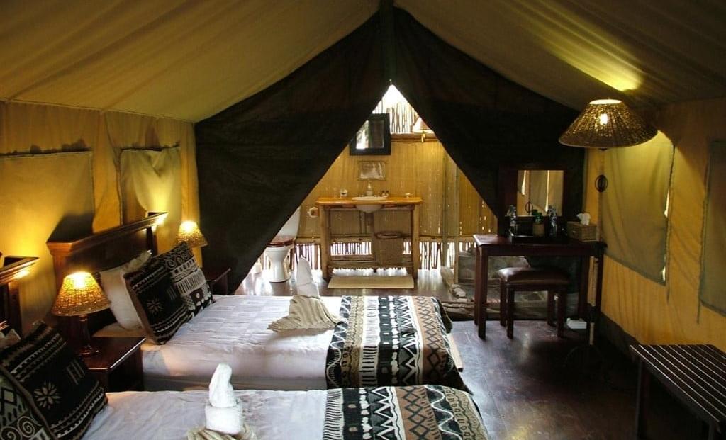 Palmwag Lodge - slaapkamer