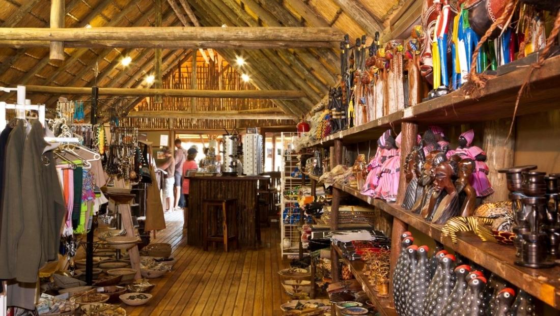 Sesriem Campsite - souvenirwinkel
