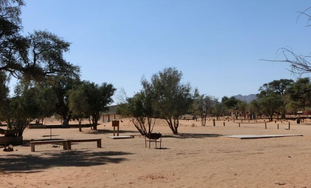 Sesriem Campsite - kampeerplaats