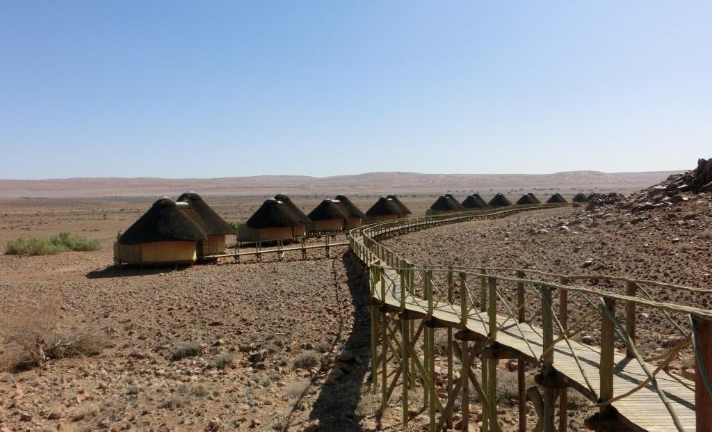 Sossus Dune Lodge - rondavel huisjes