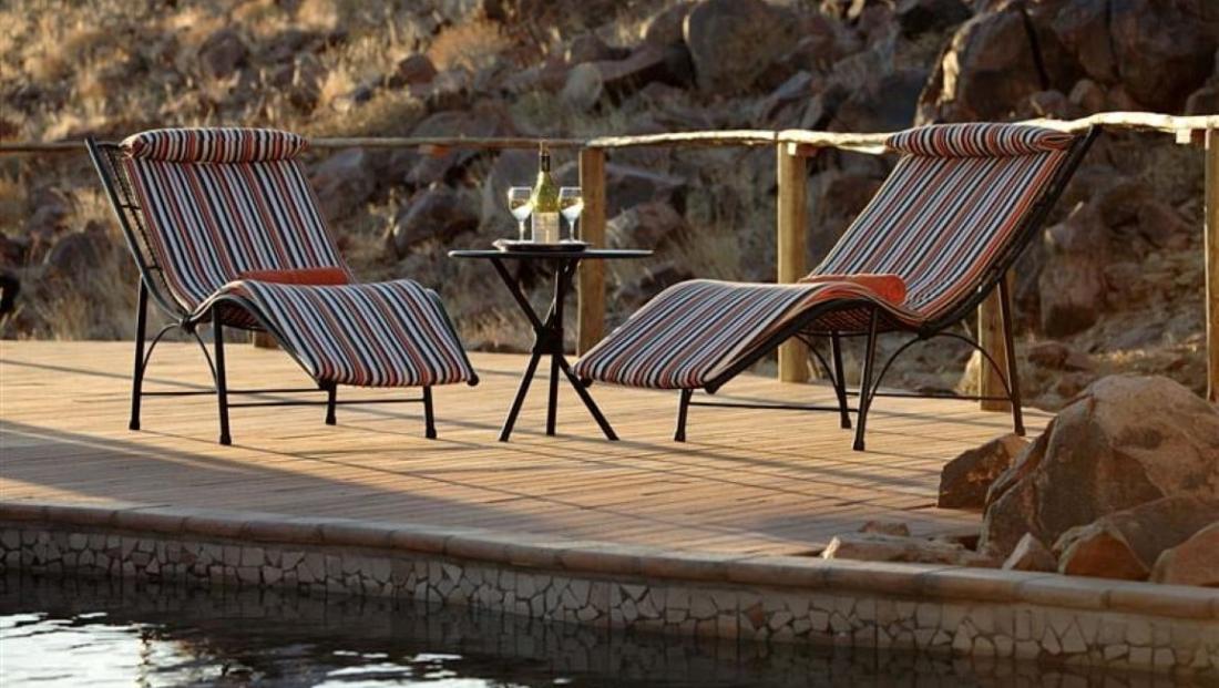 Sossus Dune Lodge - zwembad