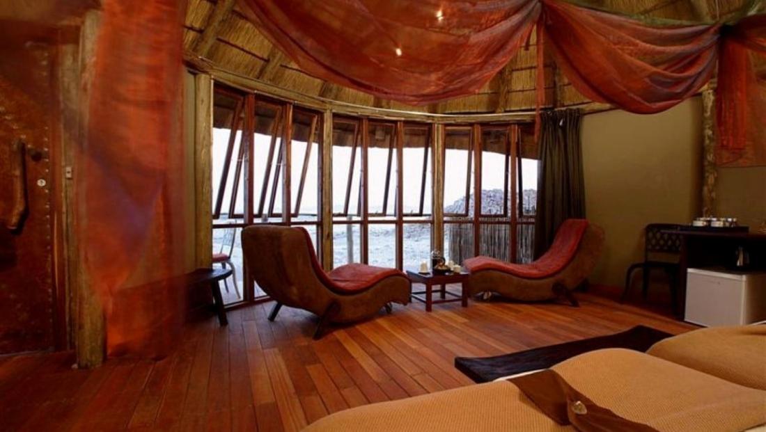 Sossus Dune Lodge - slaapkamer