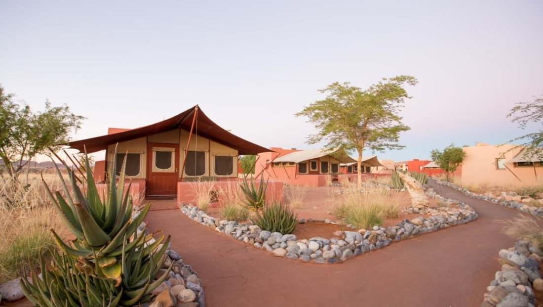 Sossusvlei Lodge - tent kamers