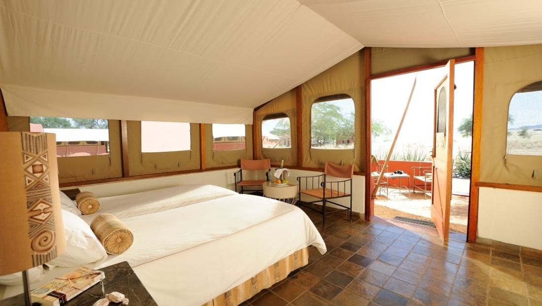 Sossusvlei Lodge - slaapkamer