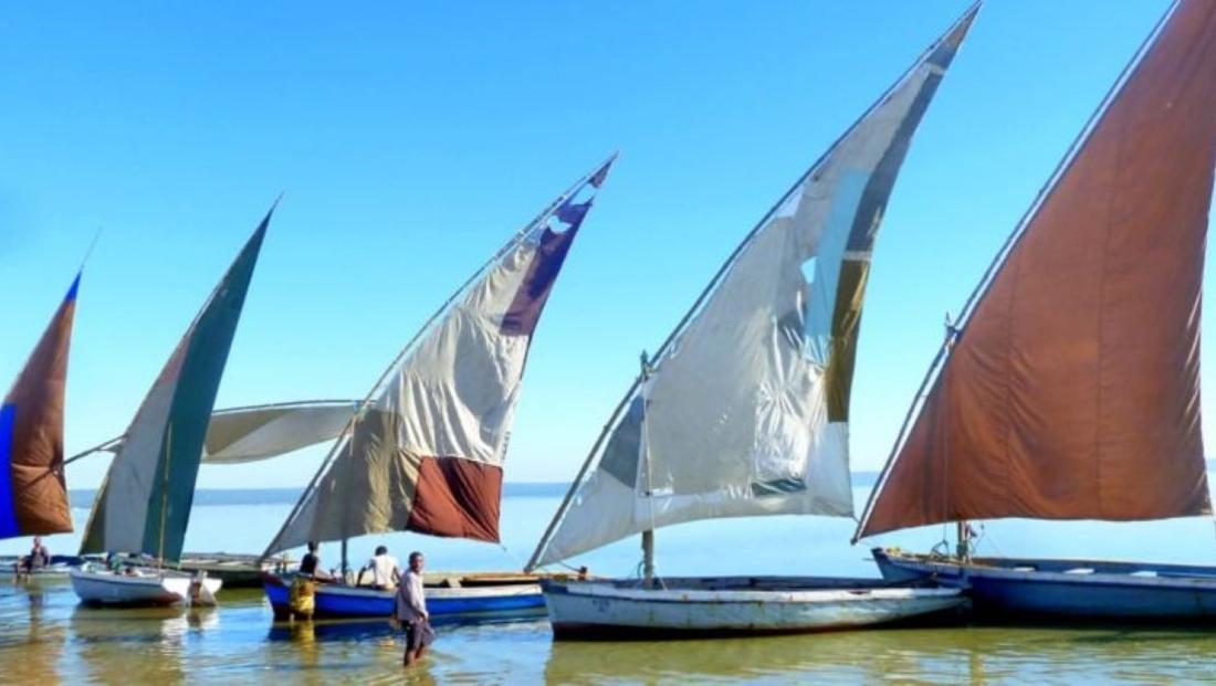 Mozambique - Dhows aan de kust