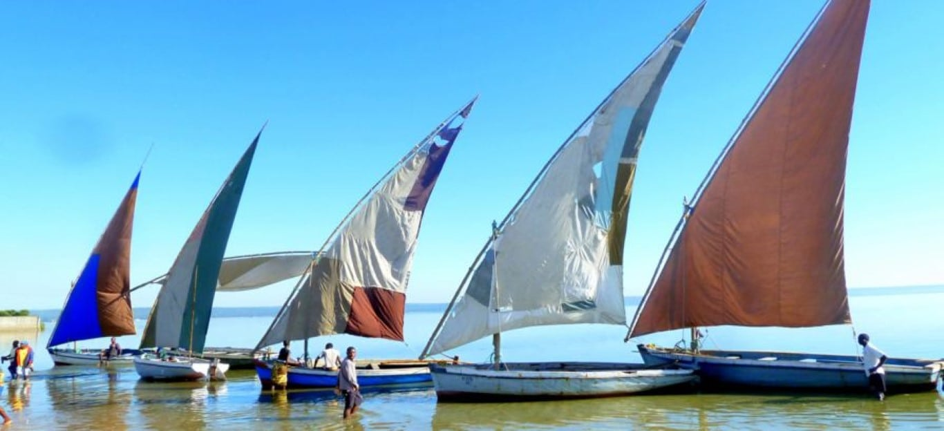 Rondreizen vakanties Mozambique - Traditionele dhows