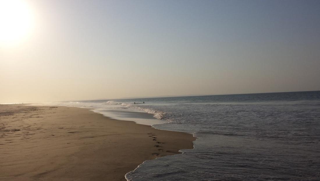 Mozambique - Leeg strand