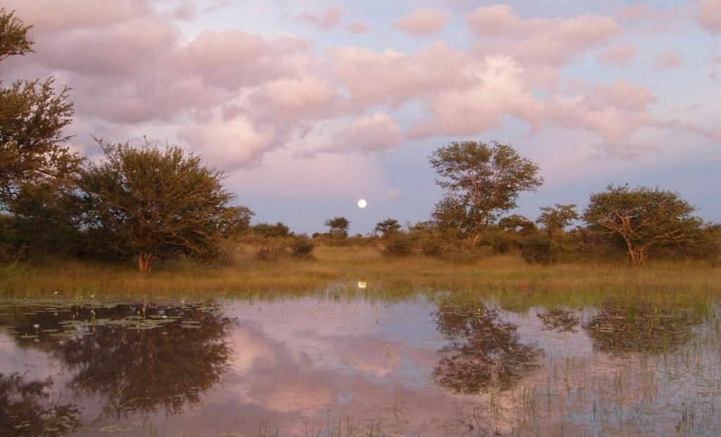 Tsumkwe Lodge - uitzicht op water