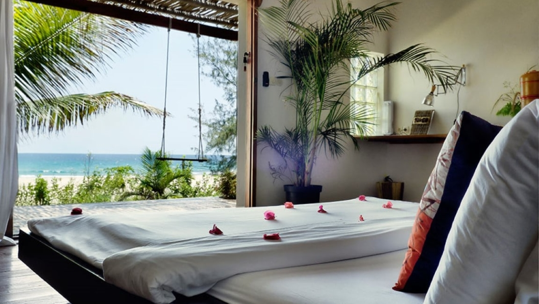 Baia Sonambula - Slaapkamer met zeezicht