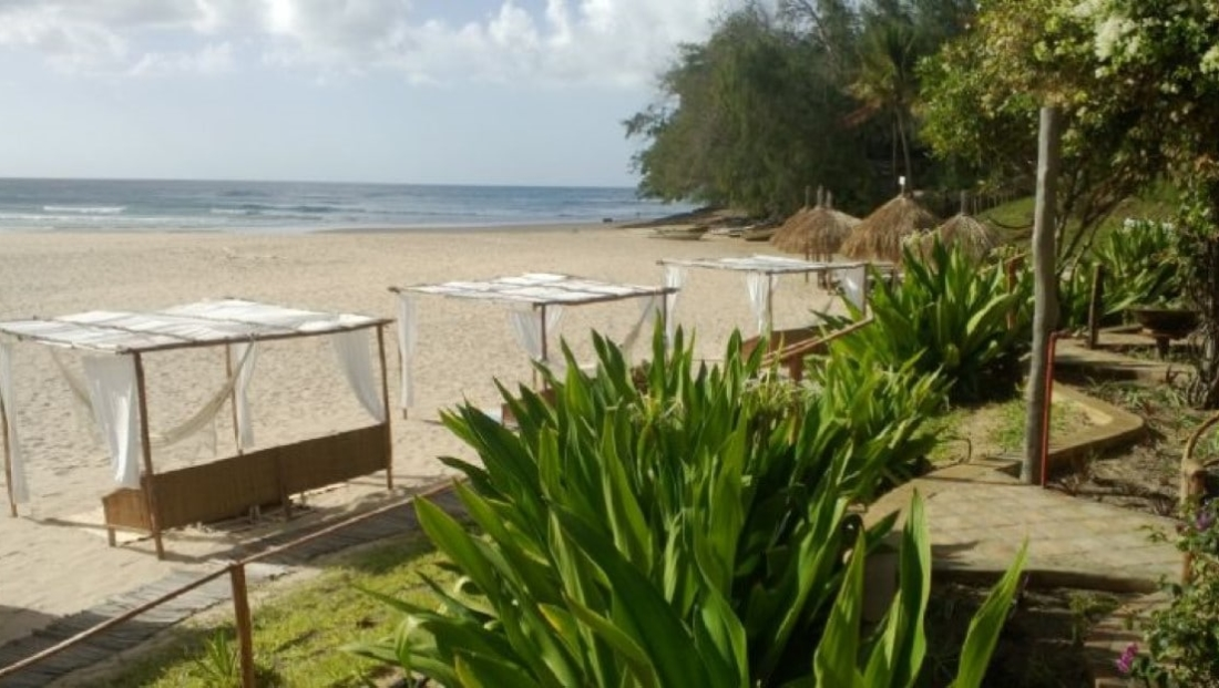 Casa na Praia - Ligbedden op het strand