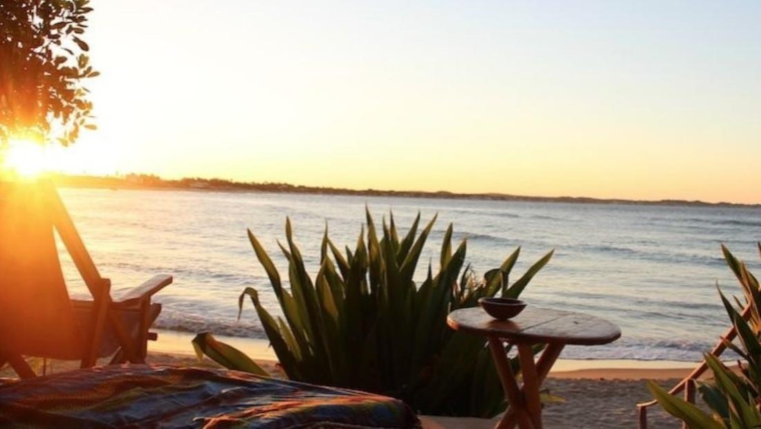 Casa na Praia - Zitje met uitzicht op zee en zonsopkomst