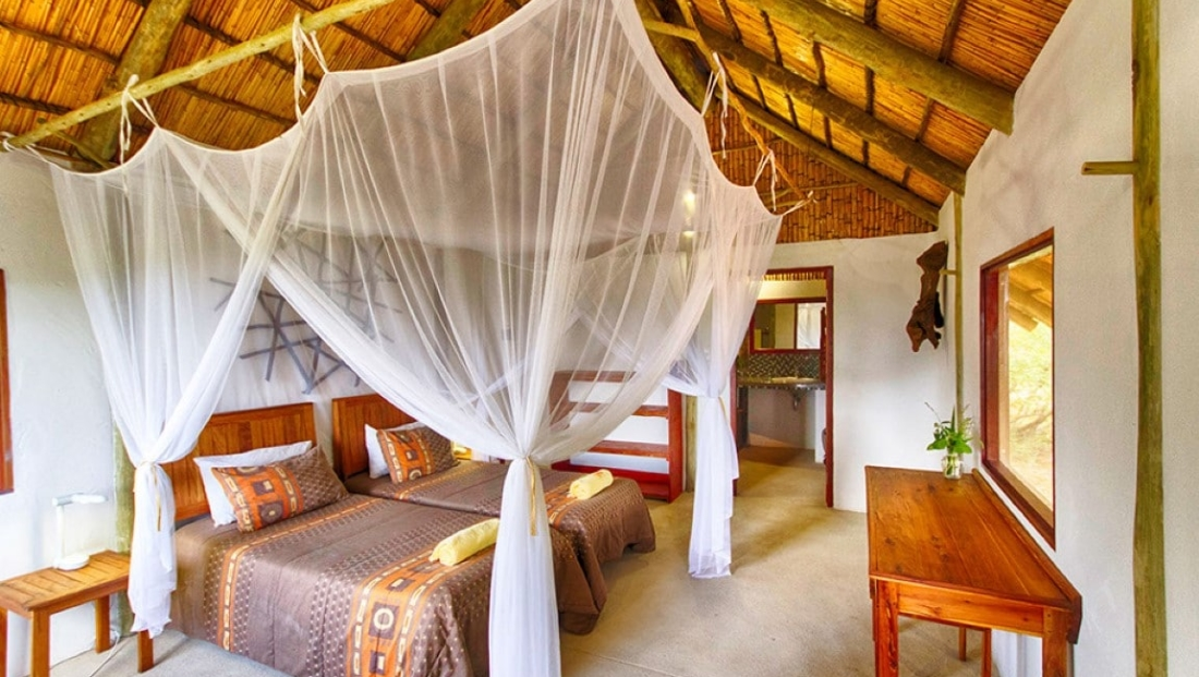 Covane Lodge - Slaapkamer
