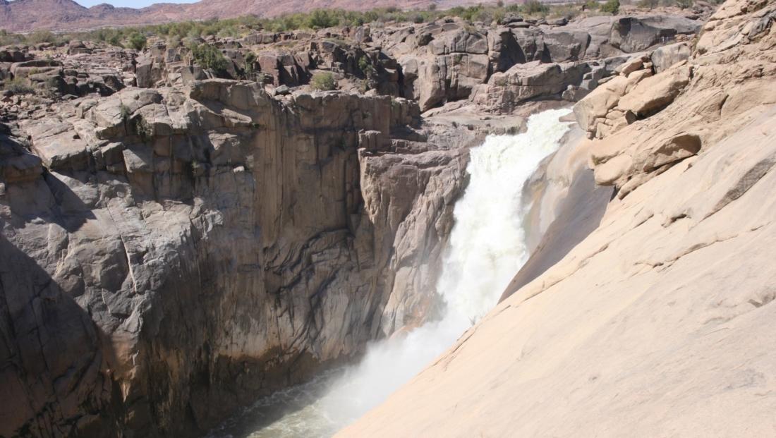 Waterval Augrabies Falls - waterval