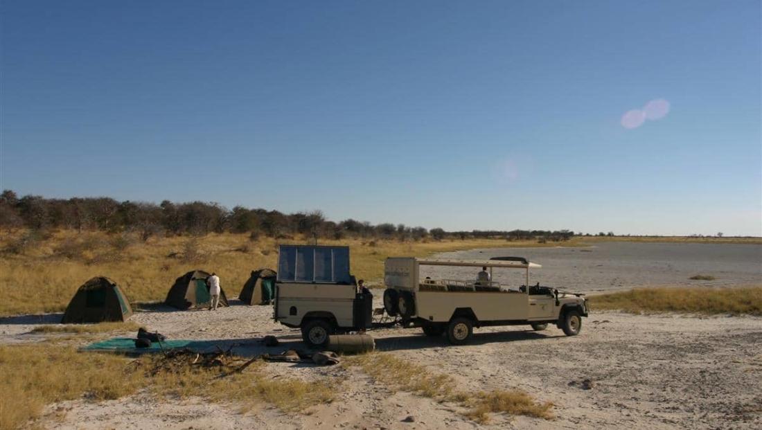 Tentenkamp jeepsafari Bush Ways
