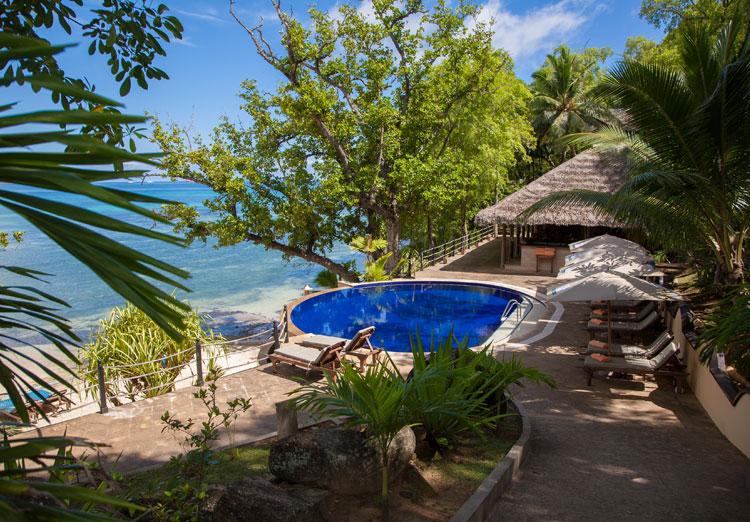Cerf Island Resort - zwembad