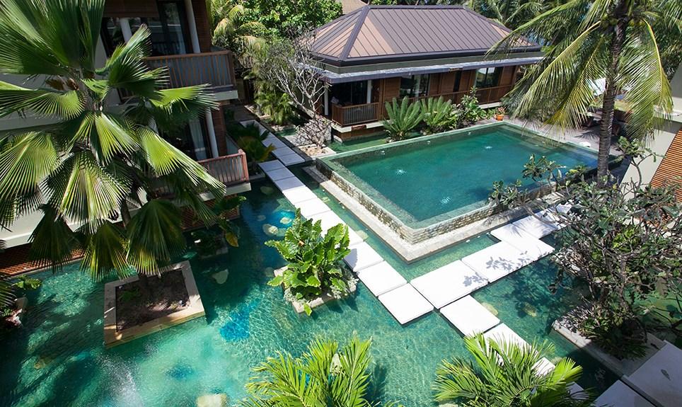 Dhevatara Beach Hotel - zwembad