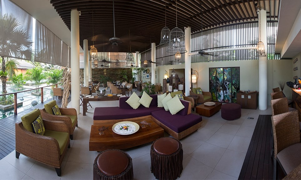 Dhevatara Beach Hotel - lounge en bar