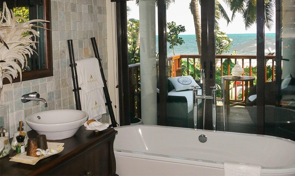 Dhevatara Beach Hotel- badkamer