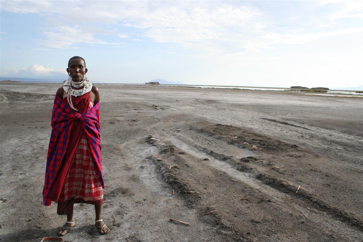 Masaai - op de savanne