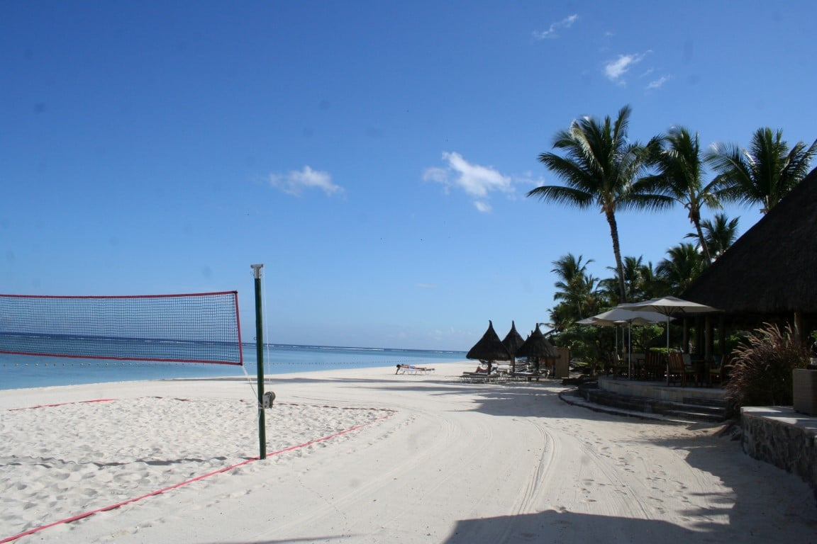 Out in Africa Strand Mauritius Reis Vakantie