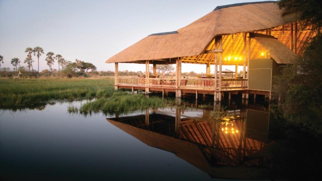 Moremi Crossing - Comfortabel safari kamp midden in de Okavango Delta