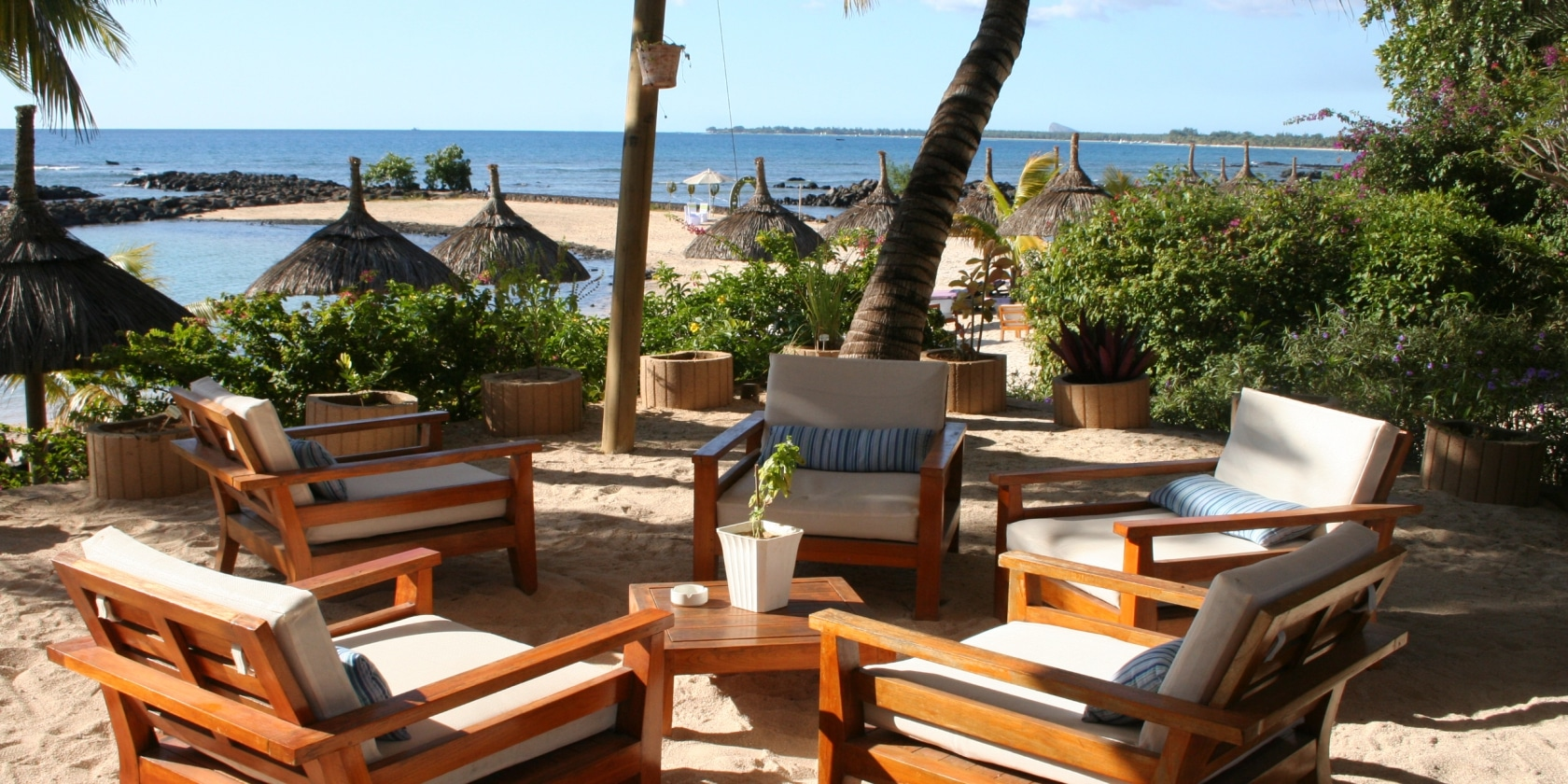 Point aux Biches - Lounge aan het strand