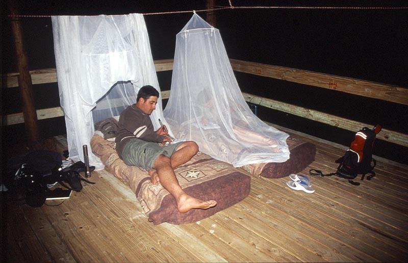 Slapen in Afrika rangercursus