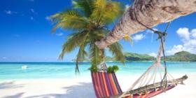 Hangmat Seychellen Strand